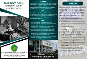 Read more about the article Brosur Program Studi Pendidikan Dokter & Profesi Dokter