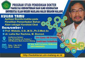 Read more about the article Kuliah Tamu Departemen Ilmu Biomedik Tahun 2019