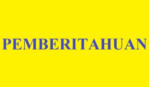 Read more about the article Pemberitahuan Pembimbing Skripsi Mahasiswa Angkatan 2018