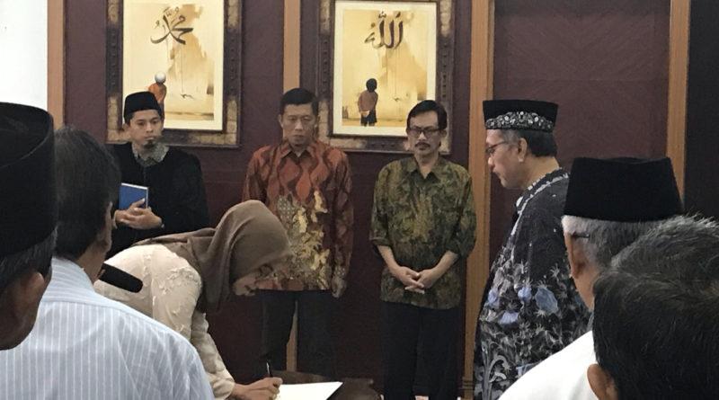 FKIK UIN Malang Memiliki Dekan Baru
