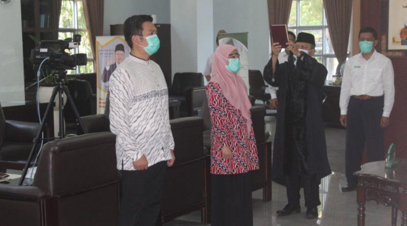 Pelantikan Kaprodi dan Sekprodi PSPD FKIK UIN Malang Periode 2020/2021