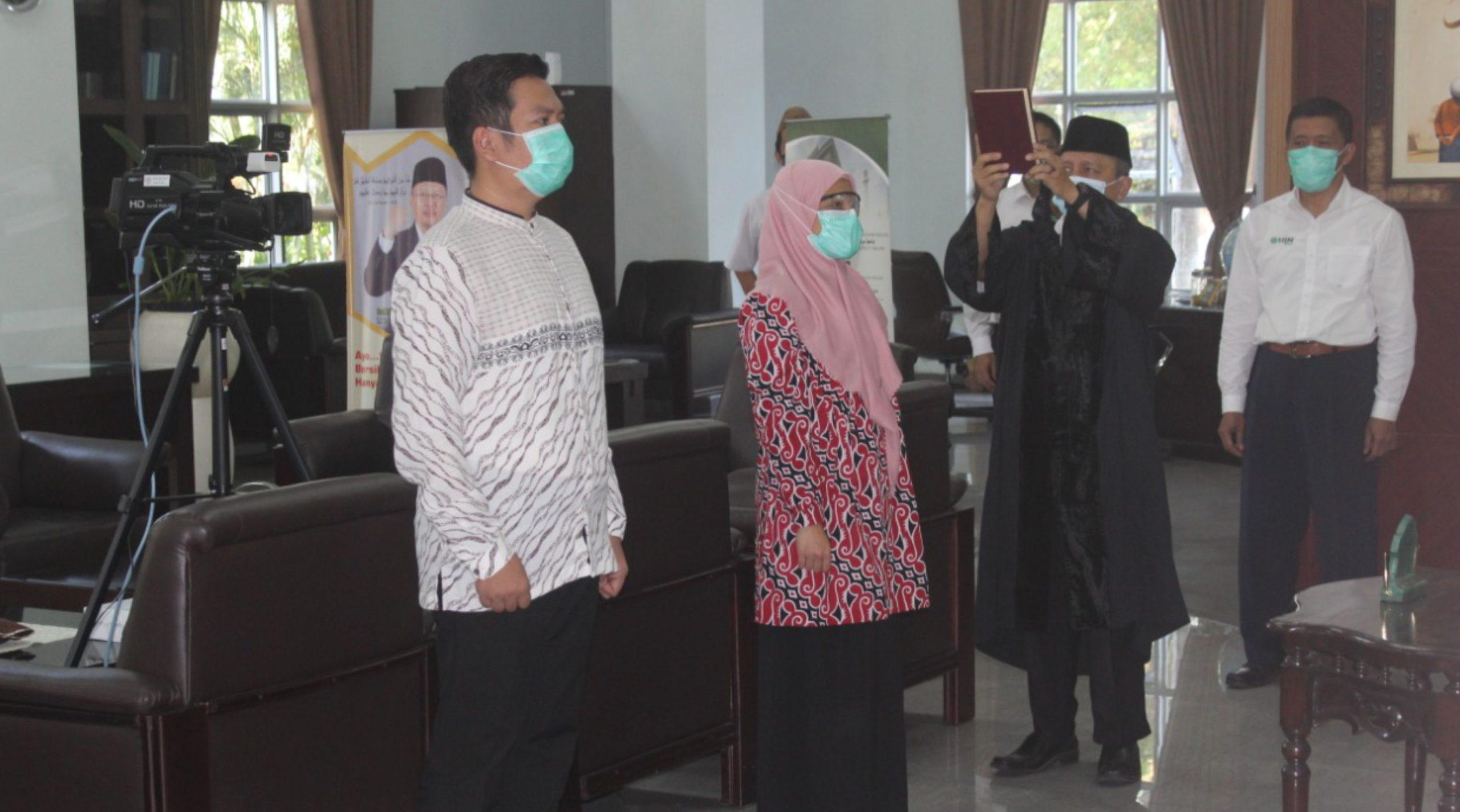 Read more about the article Pelantikan Kaprodi dan Sekprodi PSPD FKIK UIN Malang Periode 2020/2021