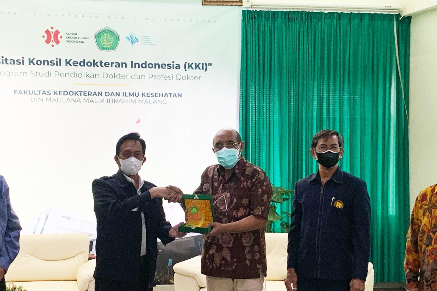 You are currently viewing Ketua Konsil Kedokteran Indonesia (KKI) Lakukan Visitasi di Prodi Kedokteran FKIK UIN Malang